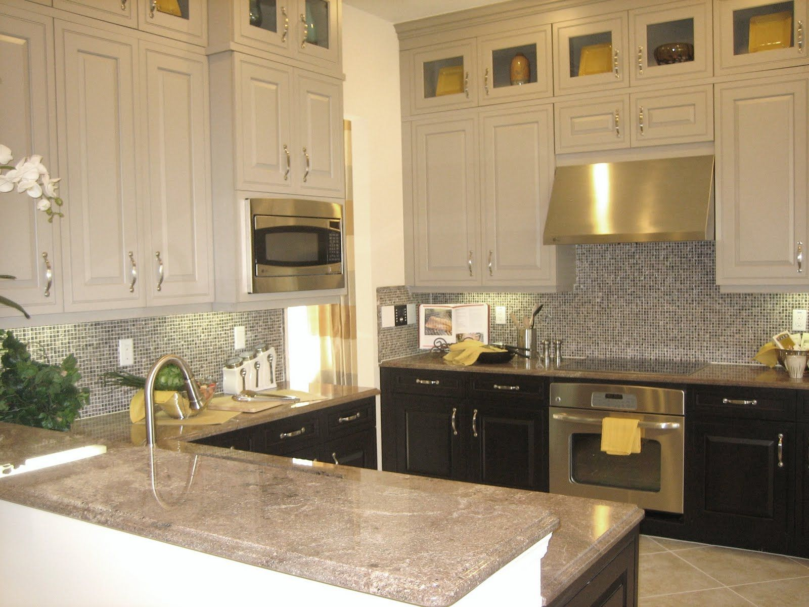 kitchen two toned kitchen cabinets best images about Kitchen on Pinterest Maple floors Islands and Two tone kitchen cabinets