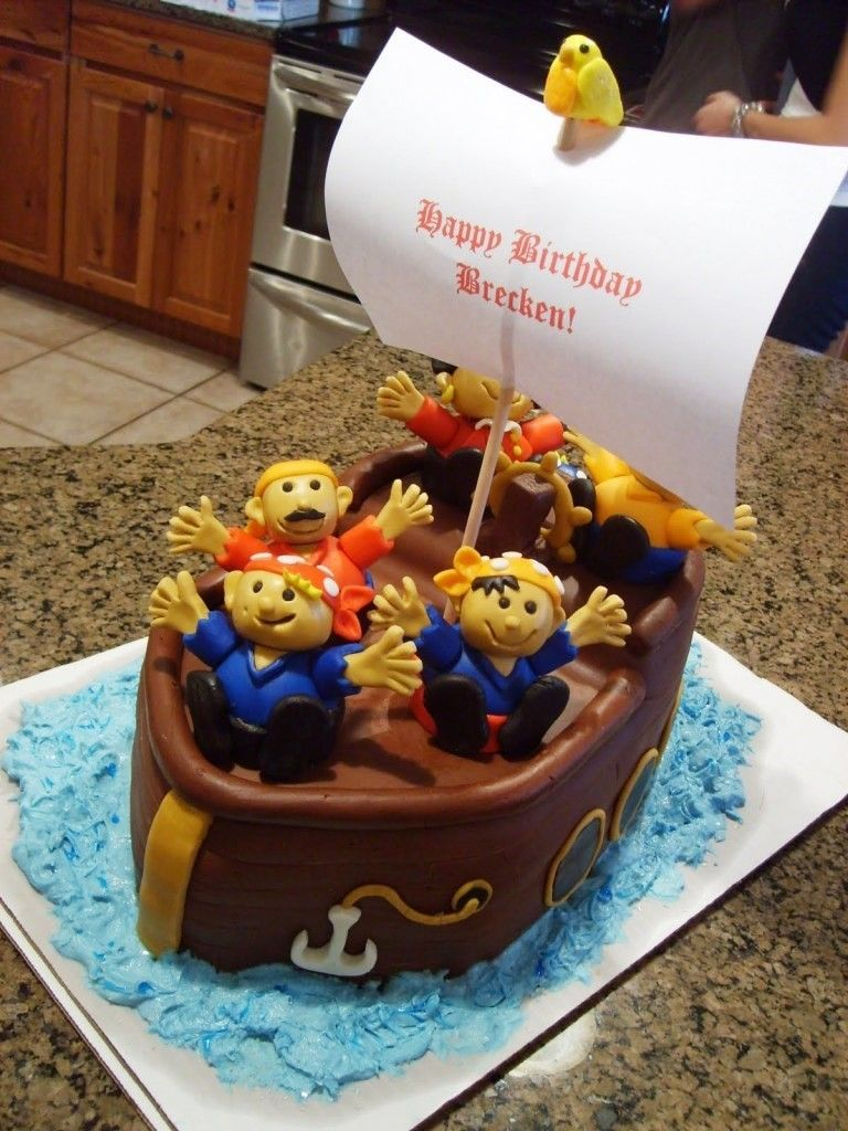 Cake pirate cakes decorating