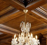 coffered ceiling design | Trim Ideals | Pinterest | Coffer ...