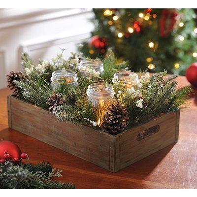 Shop Festive Christmas Flower Arrangements at Kirklandu0027s - kirklands christmas decor