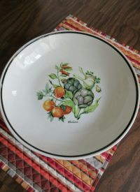 Over & Back Inc. Large Ceramic Pasta Bowl Made In Italy ...