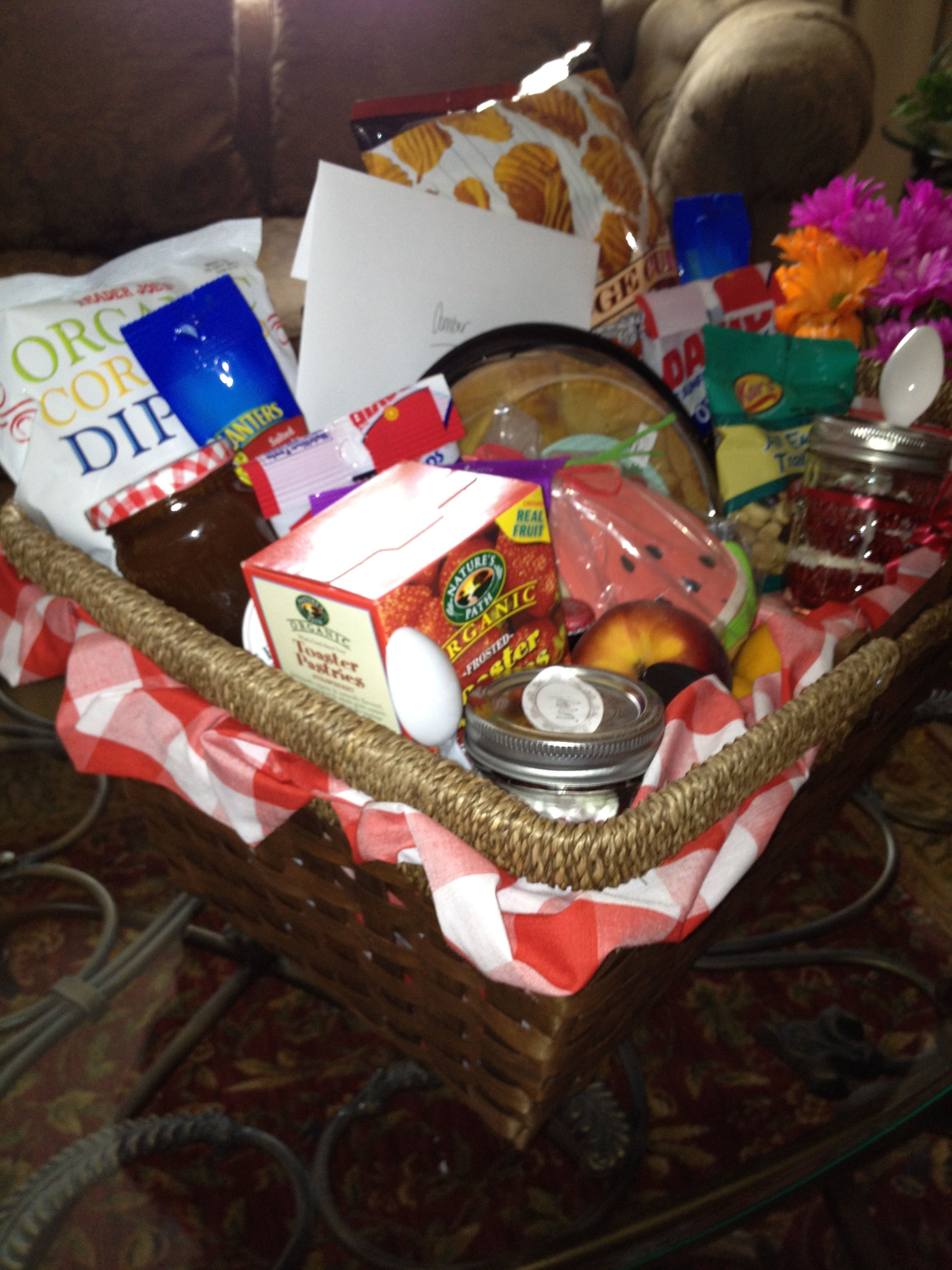 Star Themed Gifts Summer Picnic Themed Gift Basket My Creations