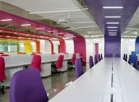 colorful office interior design ideas | oficinas ...