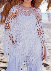 Crochet Poncho Pattern - Gorgeous Summer (Crochet Shawls ...