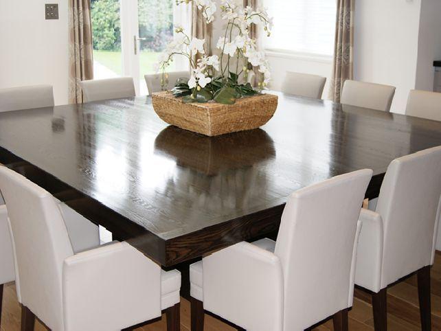 quadratische Esstisch bietet Platz für 12 Fotos - 4 Haus - esszimmer 12 personen