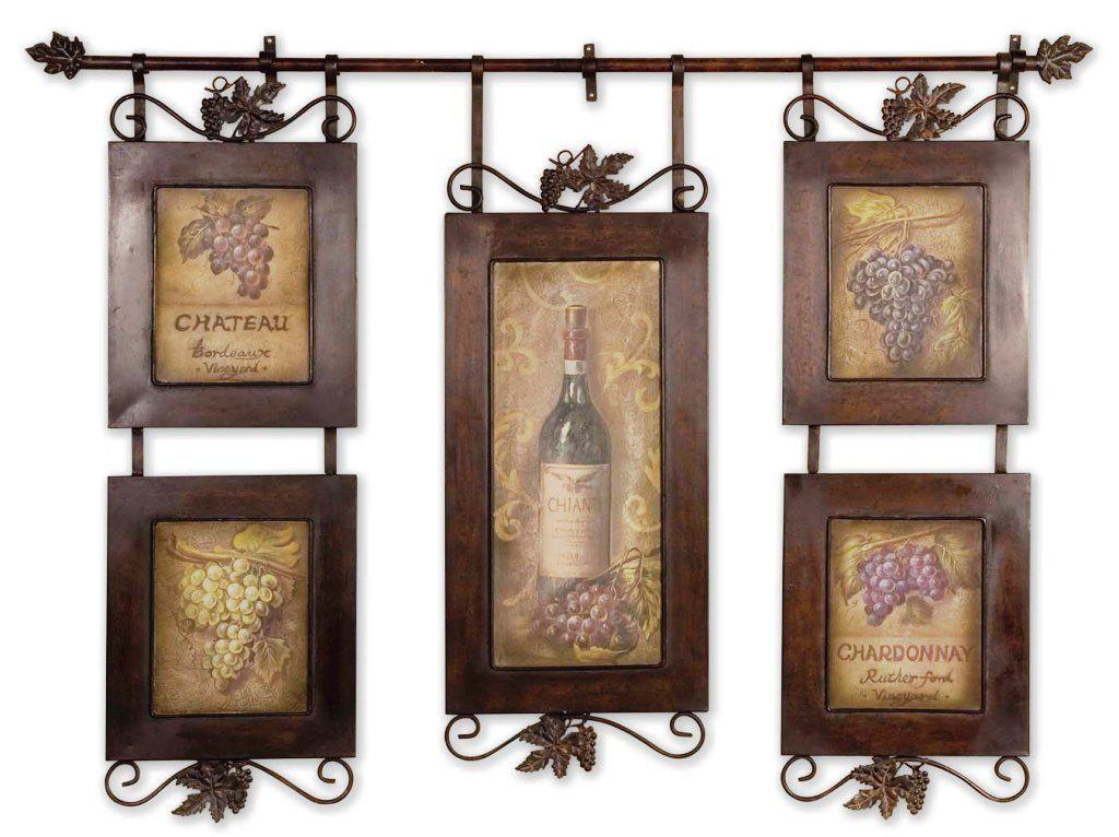 Wine Themed Tuscan Kitchen Wall Decor Ideas Home Decor - wine themed kitchen ideas
