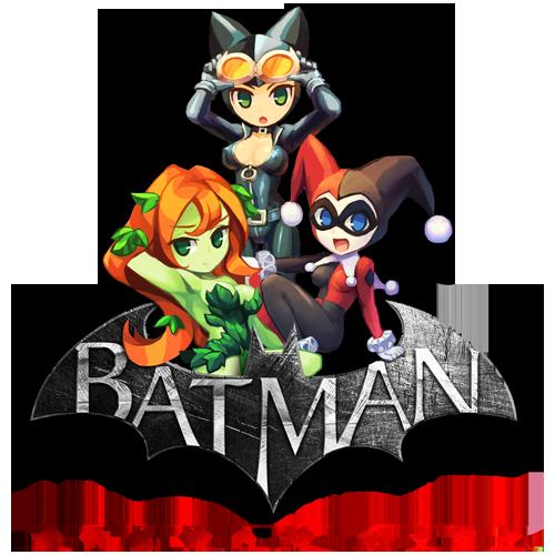 Gotham Girls Derby Wallpaper Batman Arkham City By Abaddon999 Faust999 Deviantart Com