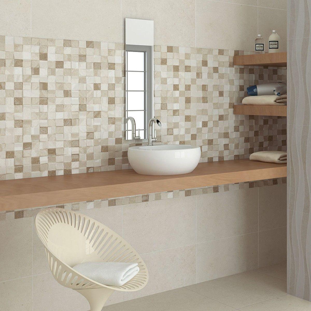 55x33.3 Adelaide Beige Mosaic