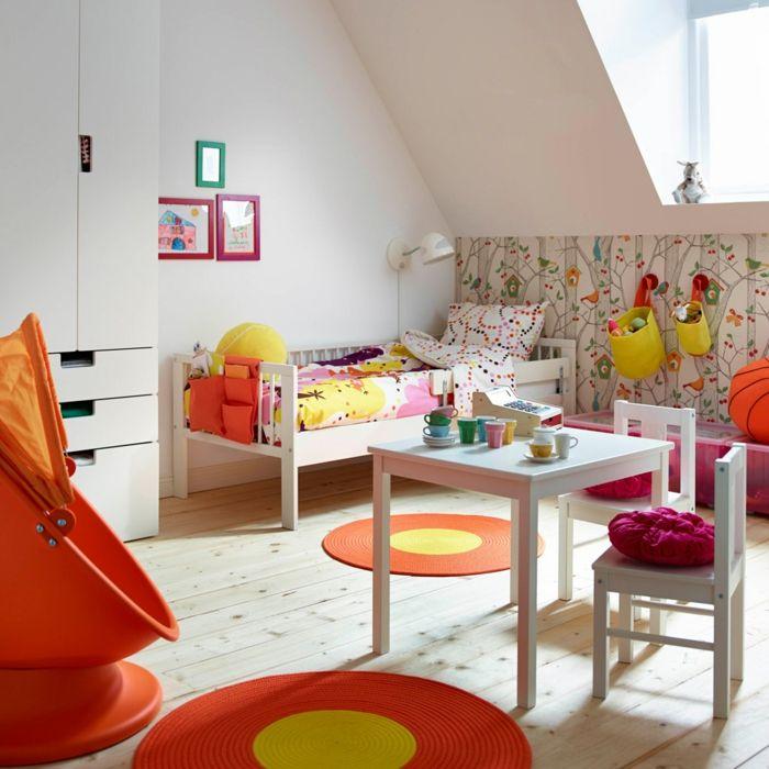 Gestaltung kinderzimmer gestalten wandgestaltung schreibtisch - ikea online babyzimmer