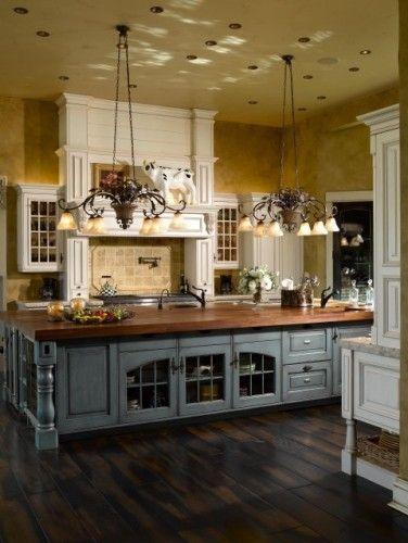 51 Dream Kitchen Designs to Inspire your Kitchen Renovation - french kitchen design