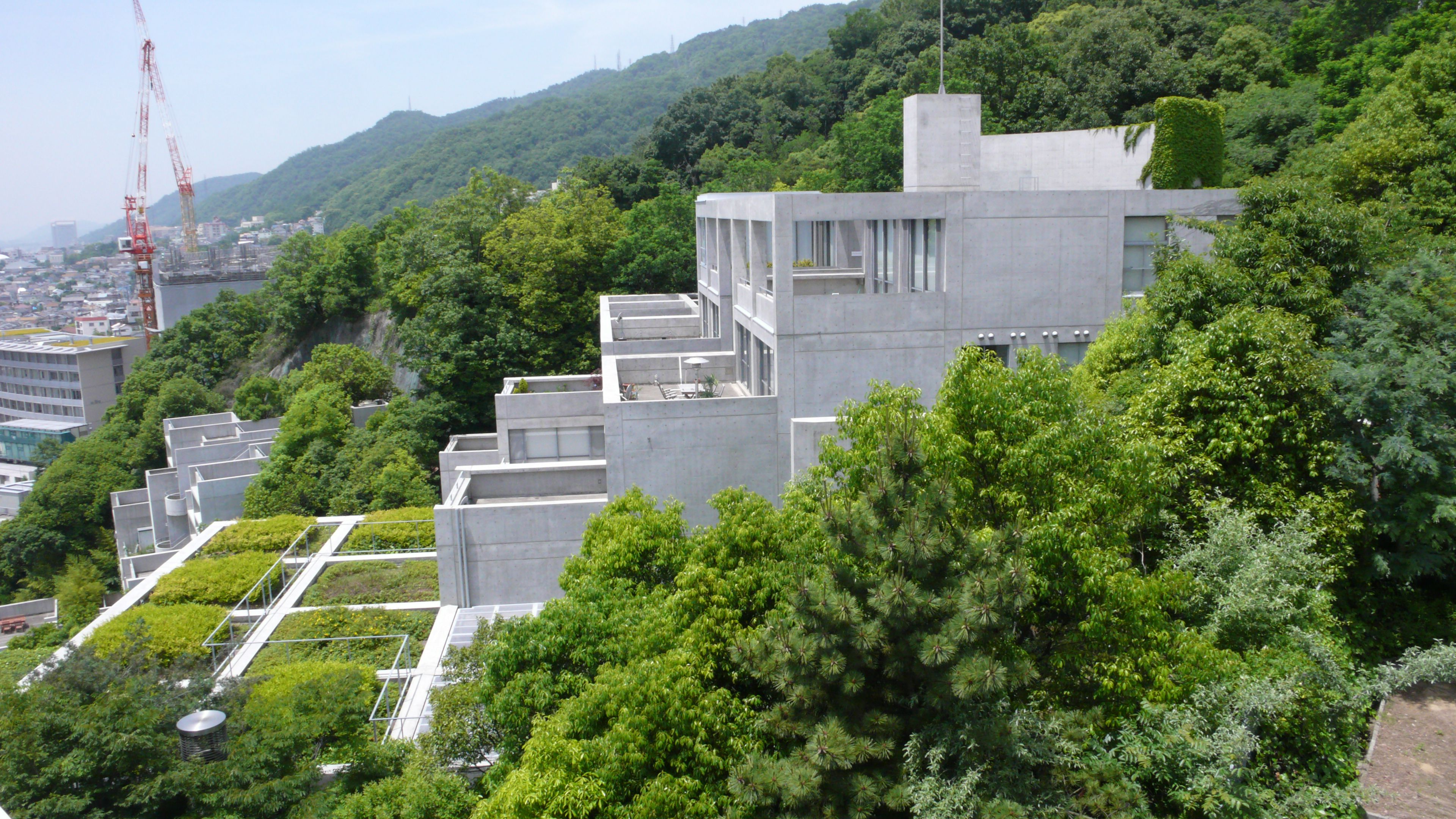Rokko housing tadao ando