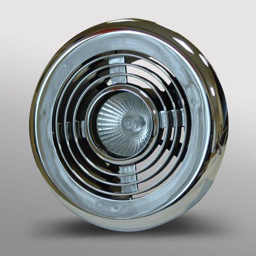LED Bathroom Shower Extractor Fan
