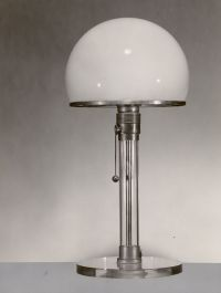 Vintage table lamp, Bauhaus studio (design by K. J. Jucker ...