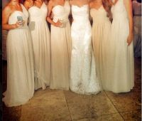 Bill Levkoff One Shoulder | The Girls | Pinterest