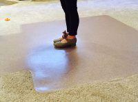 Temporary dance floor / practice dance mat - use an office ...