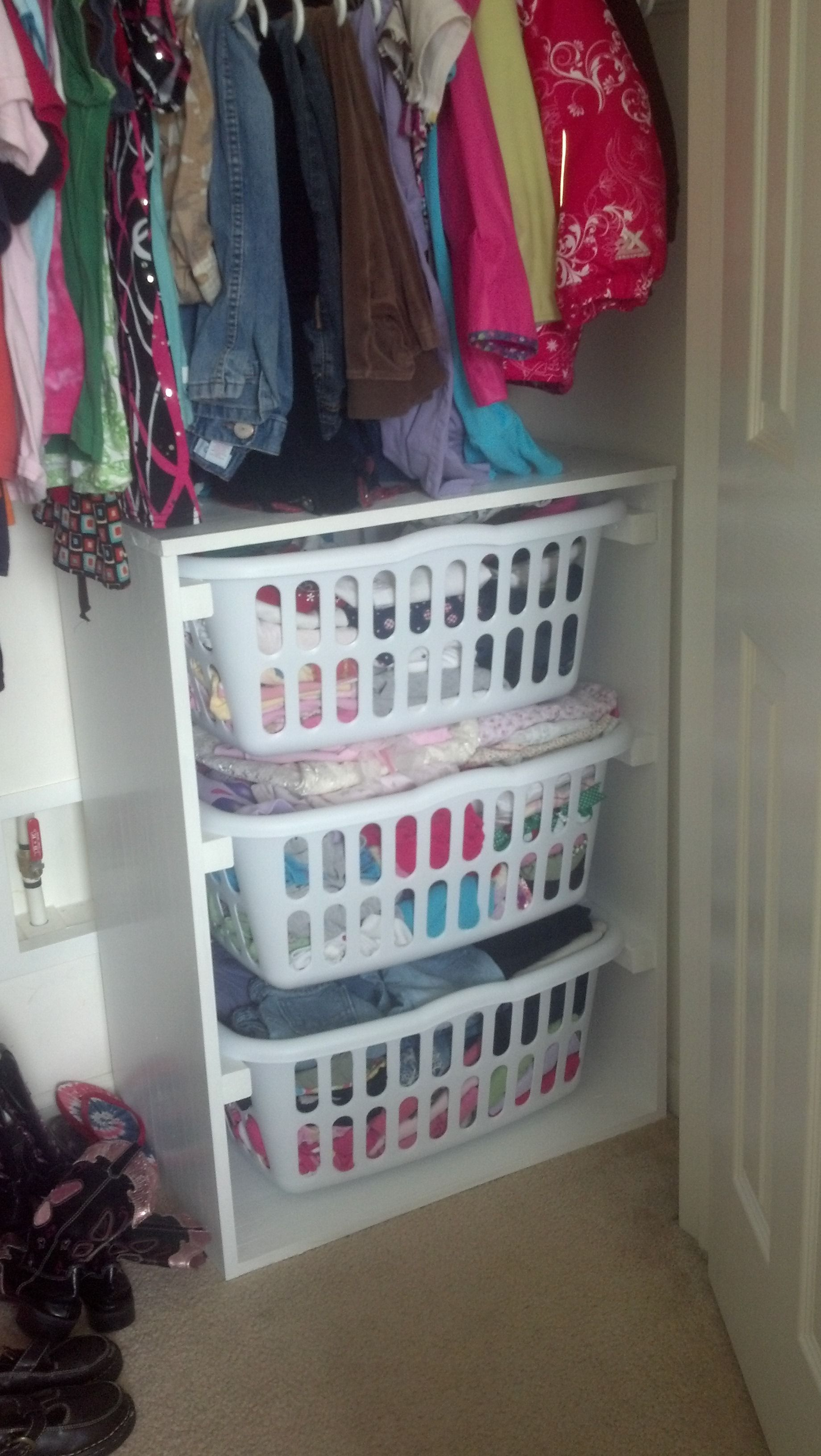 Kids Clothes Hamper Laundry Basket Dresser Do It Yourself Home Projects From