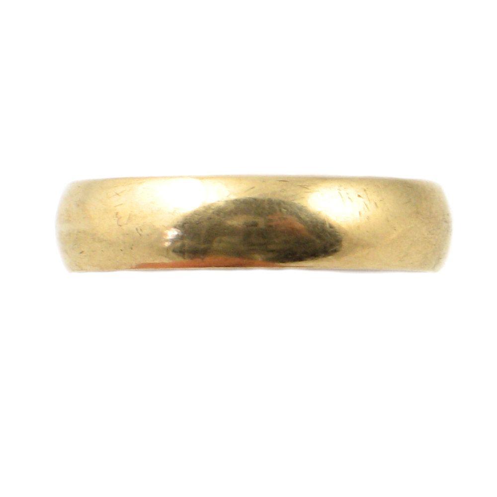 keepsake wedding rings Vintage 14K Gold Wedding Band 14K Keepsake Wedding Ring Vintage Wedding Band Unisex