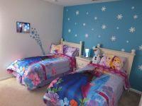 Frozen bedroom accent wall   kids rooms   Pinterest ...