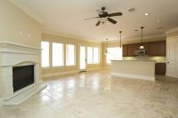 Travertine Living Room - Home Design