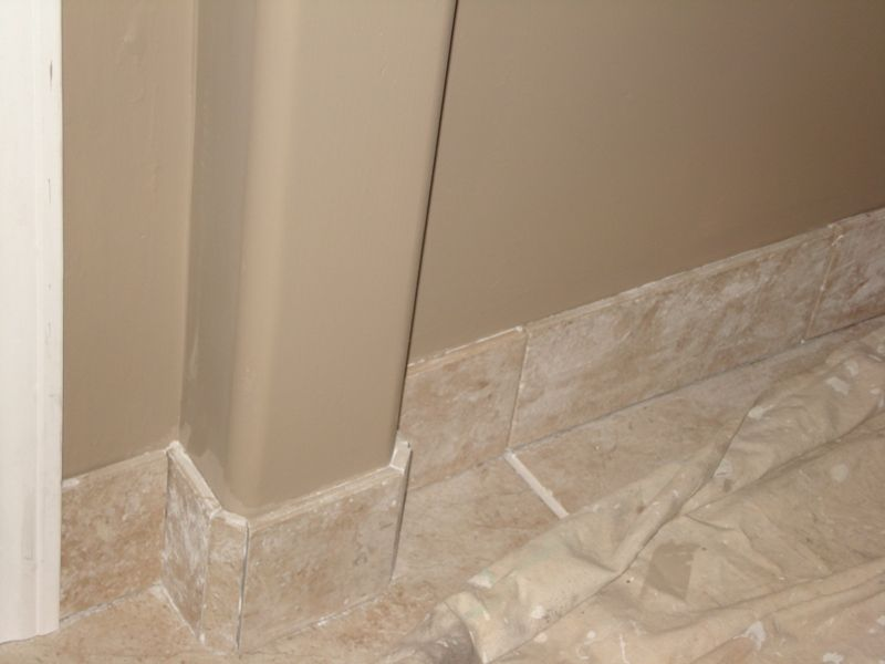 tile baseboards Dining room Pinterest Baseboard, Baseboard - bathroom baseboard ideas
