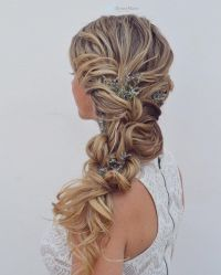 Side braid wedding hairstyle Get inspired by fabulous ...