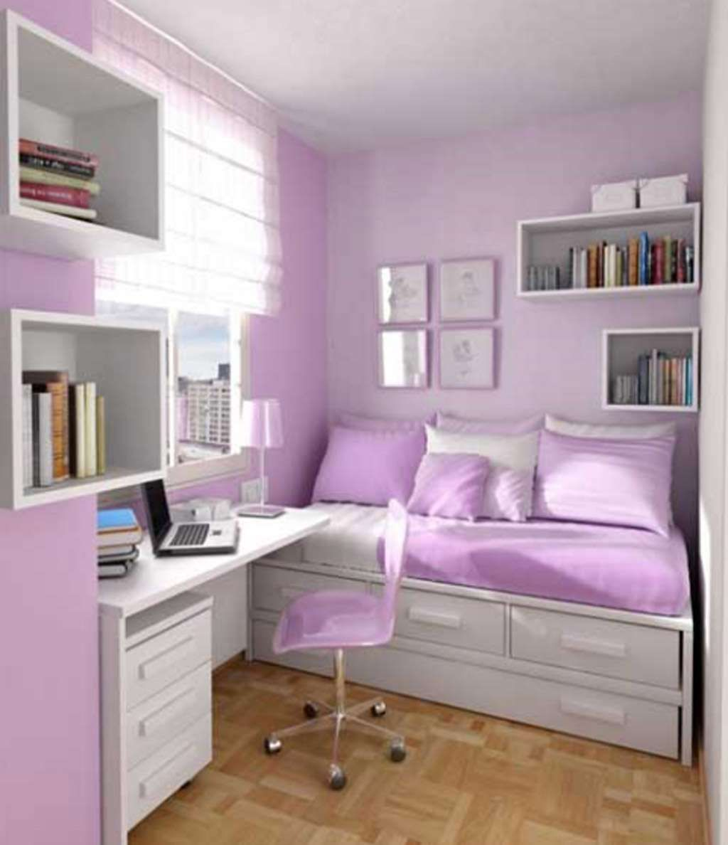 Amazing bedrooms for teenage girls white and light purple color for girl s bedroom
