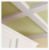 Box beam ceiling transition | My dream bedroom | Pinterest ...