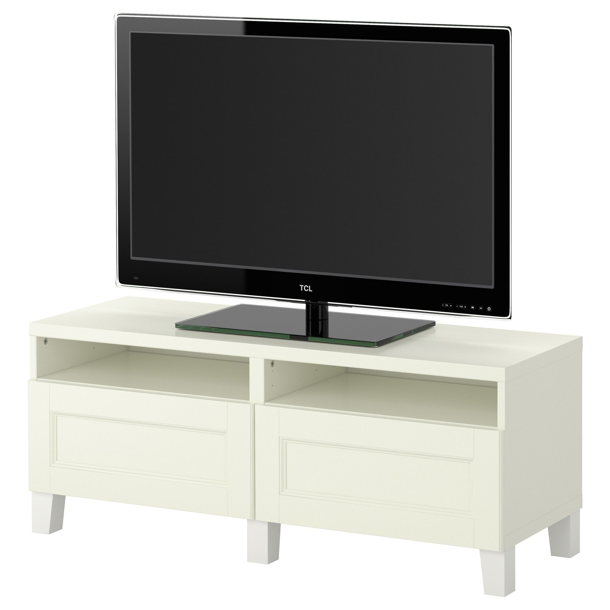 Mueble Tv Ikea Segunda Mano BestÅ Tv Bench With Drawers Ikea Décor Pinterest