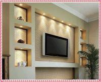 tv wall unit ideas gypsum decorating ideas 2016 drywall ...