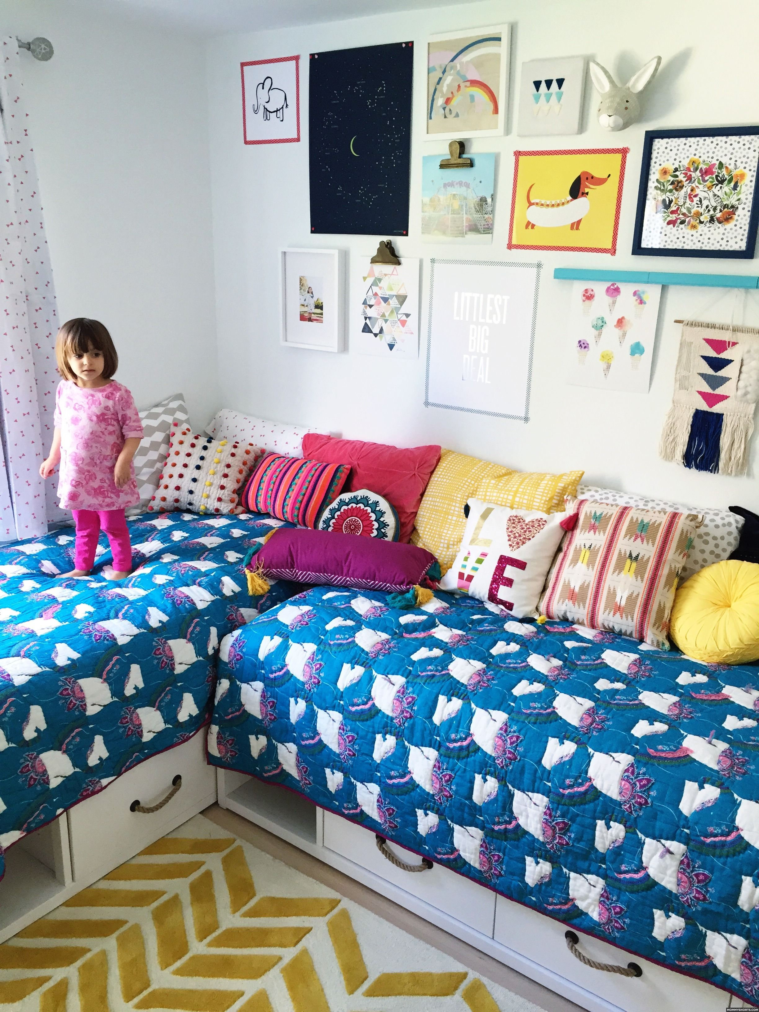 Shared Bedroom Ideas Teenagers A Modern Boho Bedroom For Mazzy And Harlow Shared