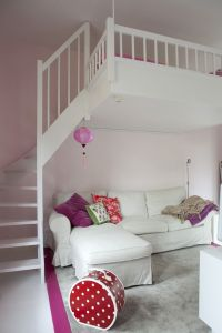 awesome bed for little girls room | loft | Pinterest ...