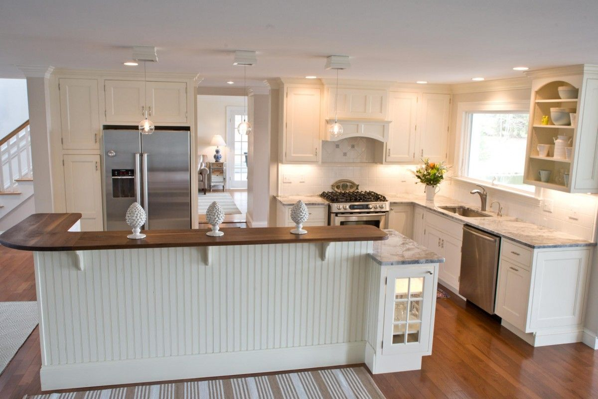 Beach Style Kitchen Cabinets Kitchen Contemporary Kitchen Design With White Themed