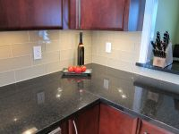 Lush Almond - 4x12 Glass Subway Tile | Kitchen | Pinterest ...