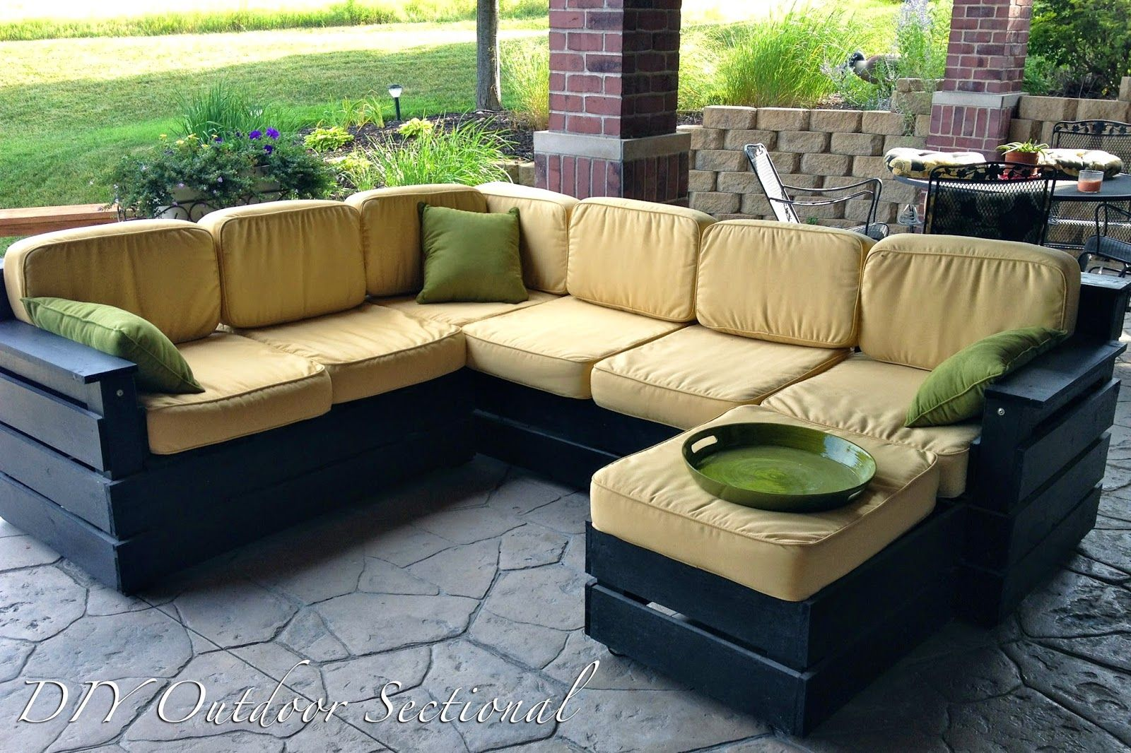 Outdoor Couch Diy Outdoor Sectional Build It Yourself Out Of Regular