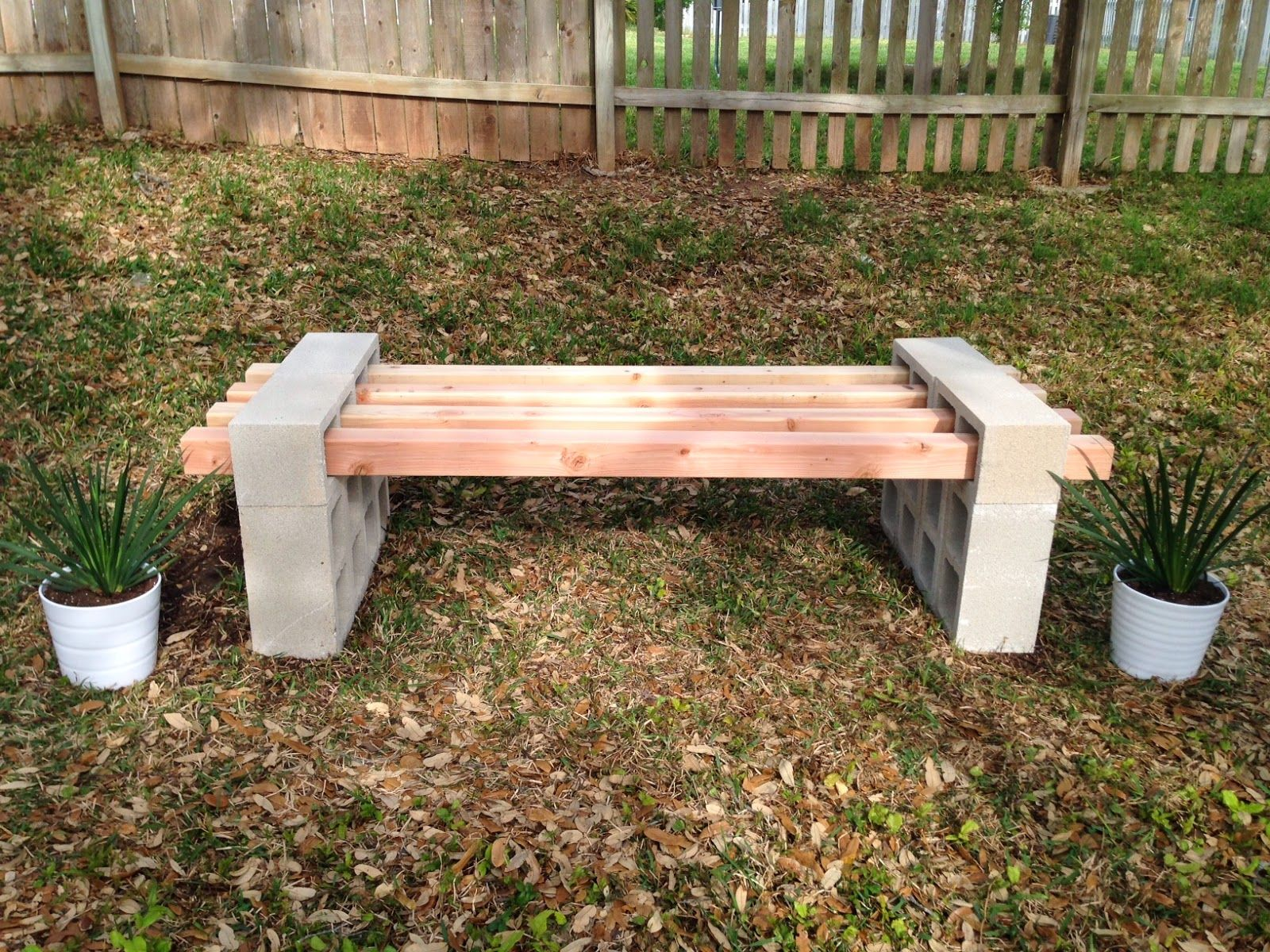 Instructions For Making Raised Garden Beds Diy Cinder Block Bench Project 12 Cinder Blocks And 4 4