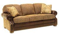 Leather And Fabric Sofa - Modern Interiors Design Ideas ...
