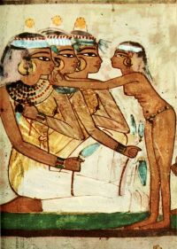 Ancient - Egyptian Wall Paintings 1956, Tomb of Nakht ...