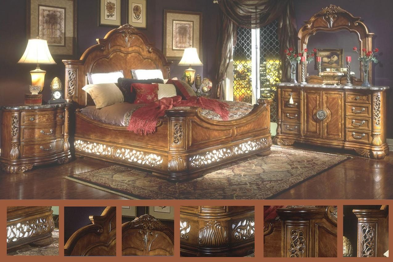 Of course you cannot forget the victorian style furniture which