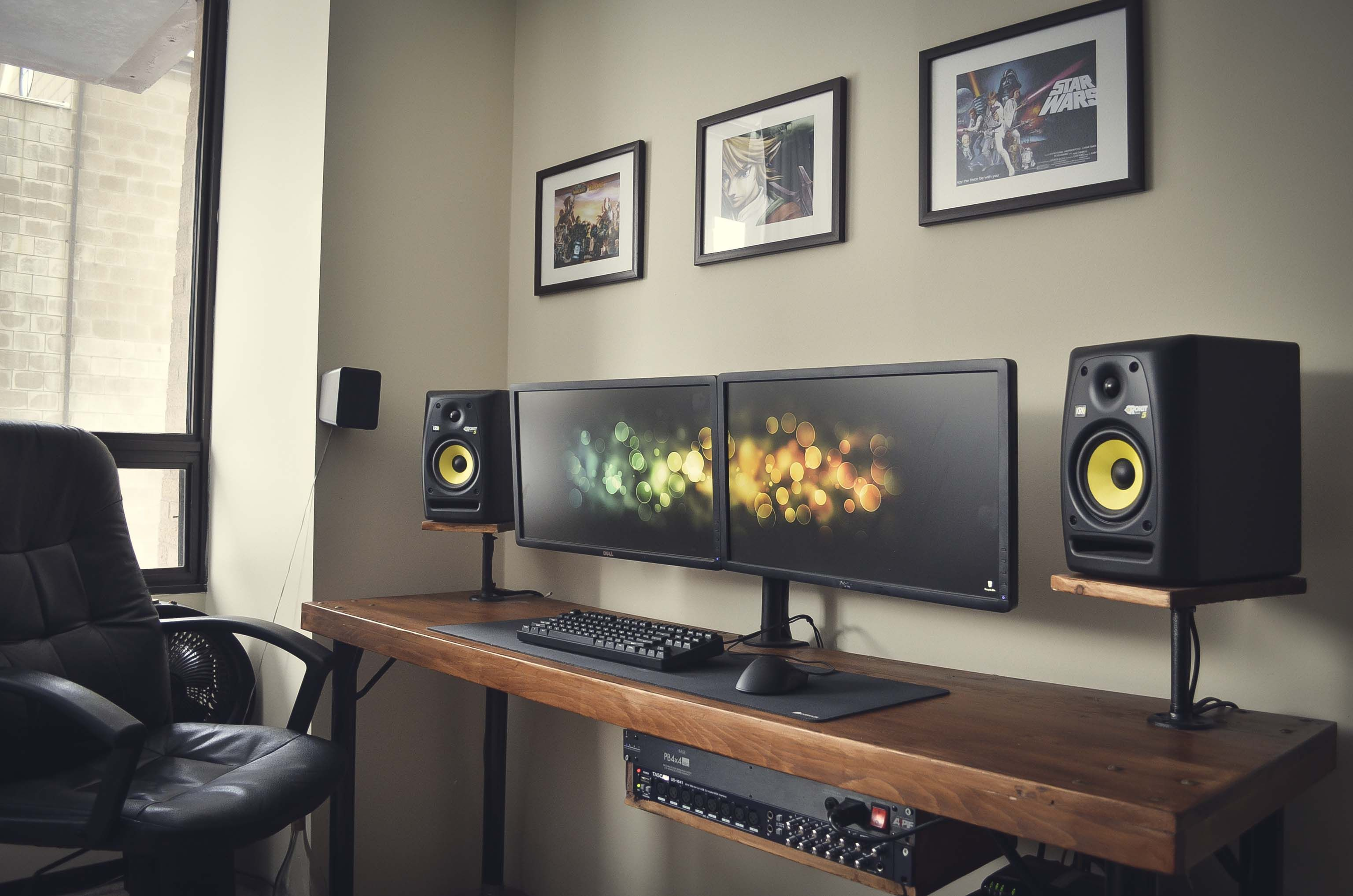 Battle Station Gaming Office House Pinterest Buero Diy Desk And Battlestation Desks