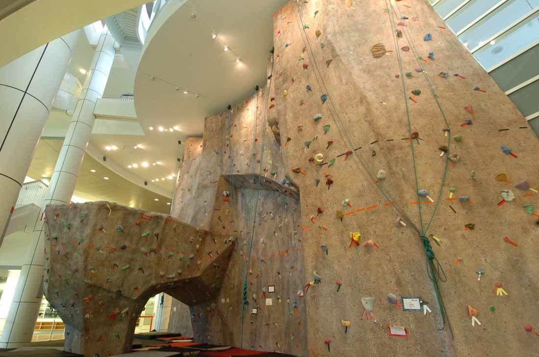 outdoor rock climbing wall - Home Rock Climbing Wall Design