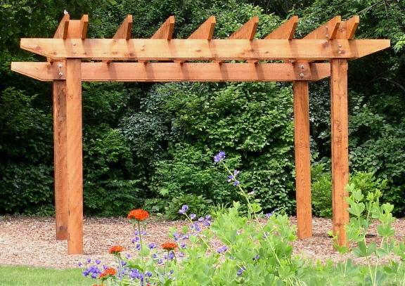 Pergola Ideas Photos And Zen images of arbor pergola and - garden arbor plans designs