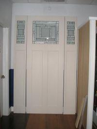 8' Fiberglass craftsman style door with Plastpro ...
