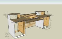 Measurements for a Recording Desk Build. I think I'm going ...