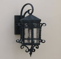 Spanish outdoor-Hand Forged-Wrought Iron/ outdoor lighting ...