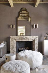SHERWIN WILLIAMS POISED TAUPE | Taupe living room, Living ...