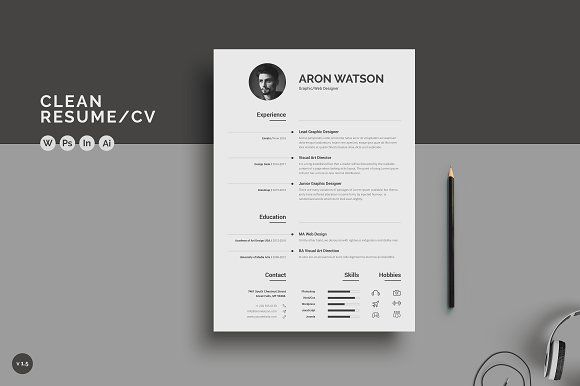 Resume Template A4 + US Clean, minimalist, and beautiful - clean resume templates