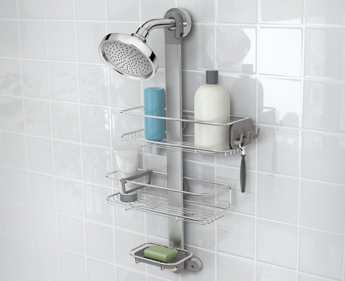 Bathroom Caddy Http Simplehuman Adjustable Shower Caddy