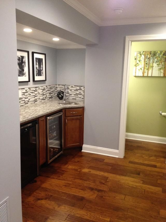 Best Kitchen Cabinet Color Resale Sherwin Williams Krypton With Artificial Light (basement