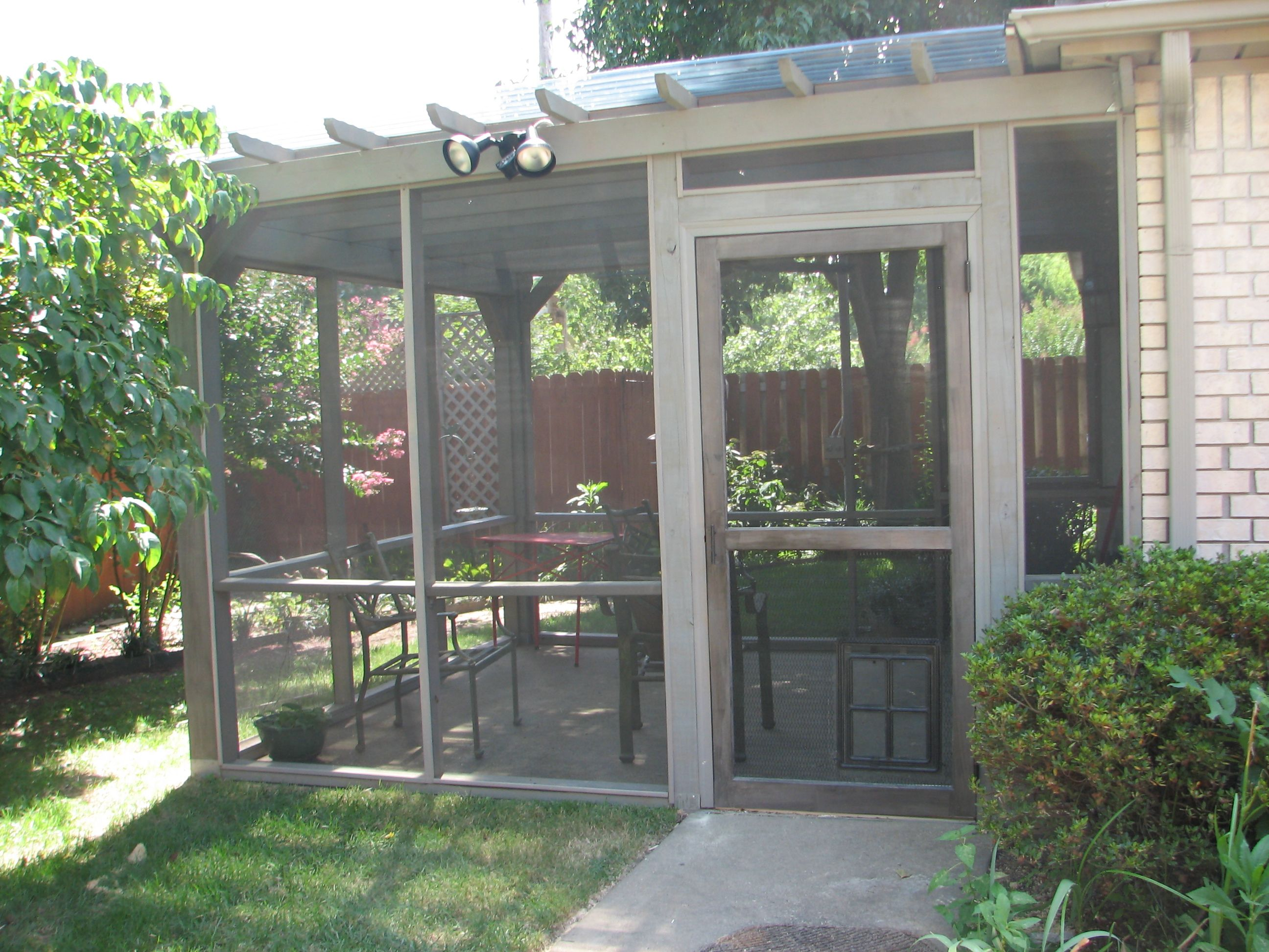 Patio Screening Ideas Pergola Screen Porch With Transparent Roof Pergola
