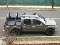 Very good looking Nissan Frontier with bed rack and roof ...